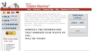 cms citation machine